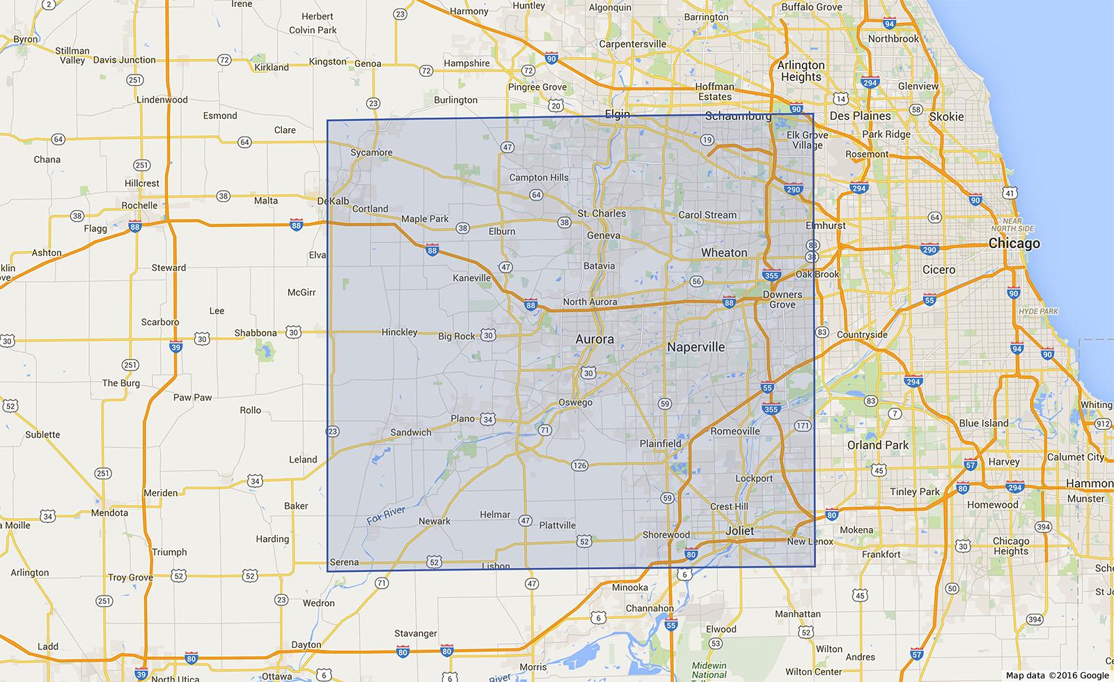 chicago land suburbs