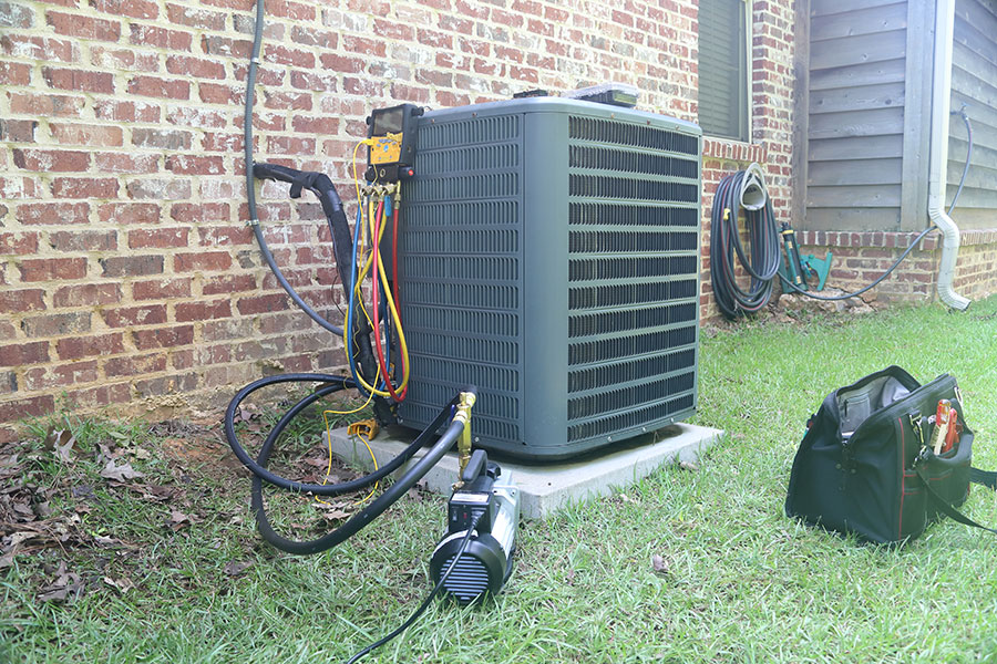 replace or repair air conditioning
